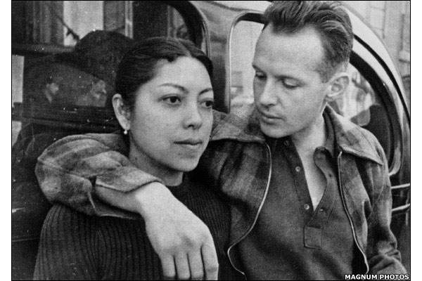 Ratna Mohini dan Henri Cartier-Bresson.