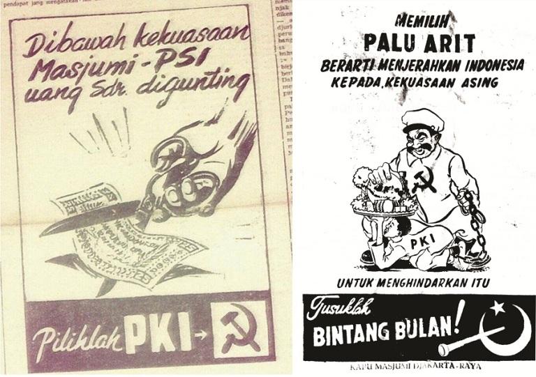 Saling serang PKI-Masyumi!
